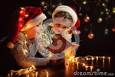 Boys have a Christmas