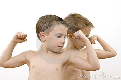 Boys / muscles / series