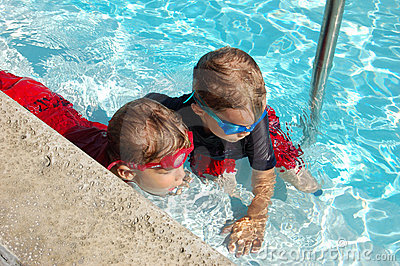 Boys in a Pool