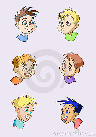 Boys portraits