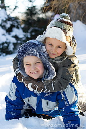 Boys On Snow