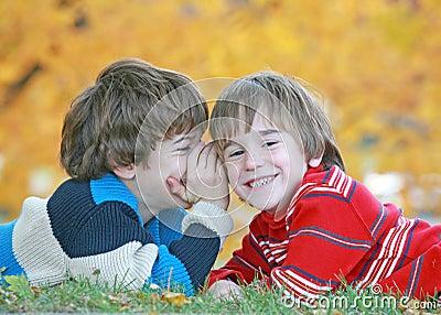 Boys Telling Secrets
