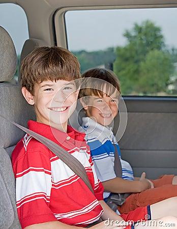 Boys in a Van