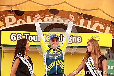 Bozic Borut - Tour de Pologne 2009 Editorial Stock Photo