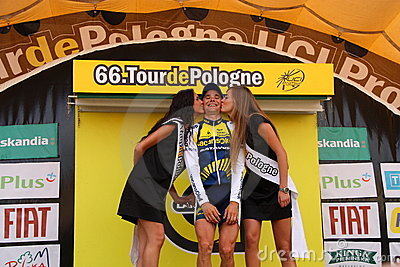 Bozic Borut - Tour de Pologne 2009 Editorial Photo