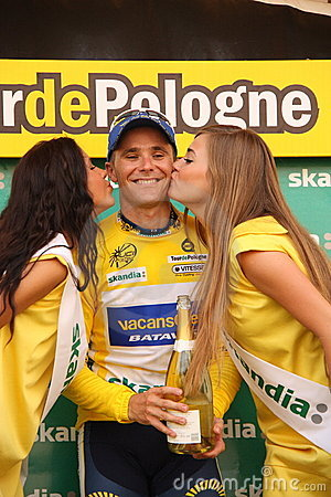 Bozic Borut - Tour de Pologne 2009 Editorial Stock Photo