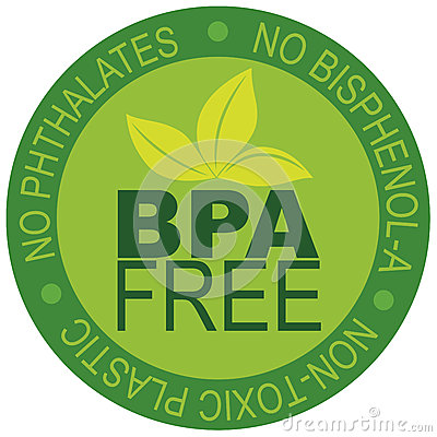 Free BPA Free Label Illustration Stock Photography - 28243412