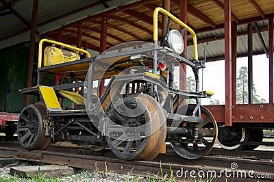 Bränsle driven spårvagn