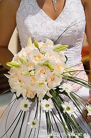Bröllopbukett