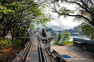 Brücke über dem Fluss Kwai
