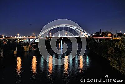Brücke Nashville-, Tennessee