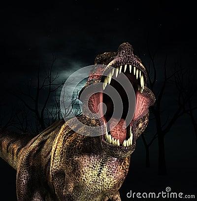 Brüllen t-Rex