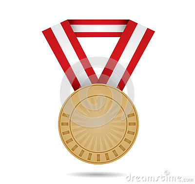 Brązowy sporta medal