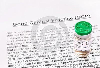 Bra klinisk övning. GCP.