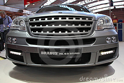 Brabus ML 63 BiTurbo based on Merced Benz ML-Cla Editorial Stock Image