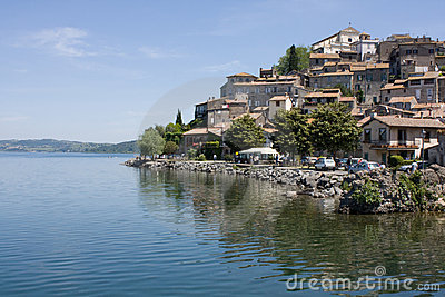 Bracciano Lake and Anguillara Sabazia