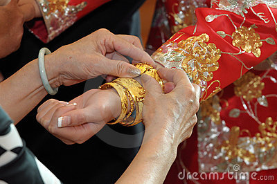 Bracelet of bride