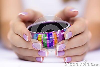 Bracelet in hand