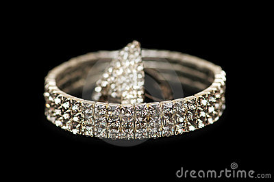 Bracelet and ring isolated