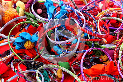 Bracelets and ornaments