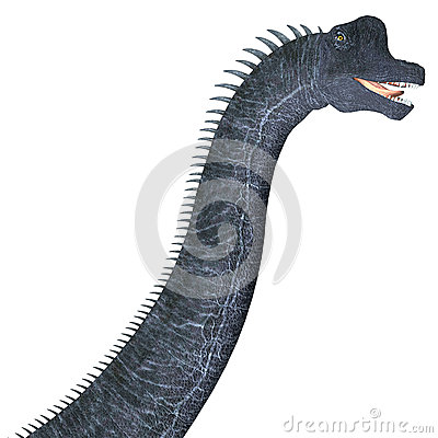 Free Brachiosaurus Dinosaur Head Royalty Free Stock Photos - 53961438