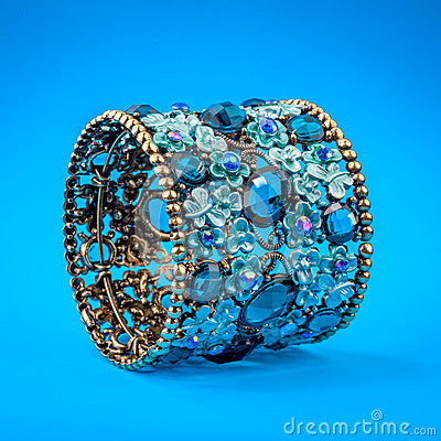Braclet with gems