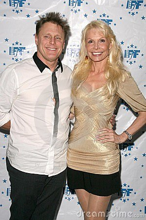 Brad Bose and Agnes-Nicole Winter at the Los Angeles Premiere of  The Gold and the Beautiful . Raleigh Studios, Hollywood, CA. 02- Editorial Stock Photo