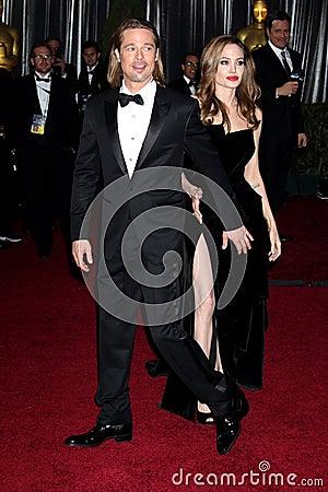 Brad Pitt, Angelina Jolie Editorial Photography