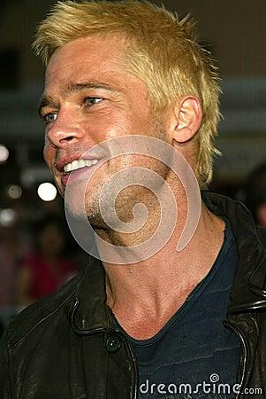 Brad Pitt Editorial Photo