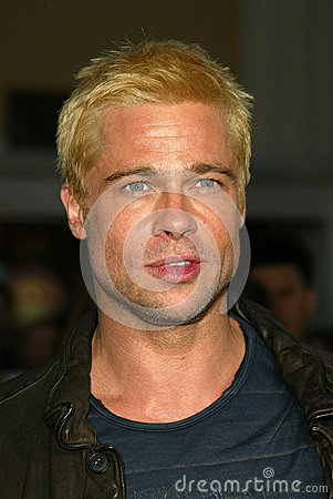 Brad Pitt Editorial Stock Image
