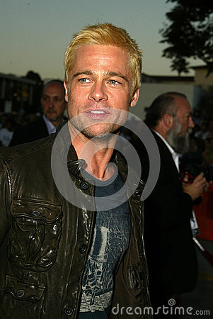 Brad Pitt Editorial Stock Photo