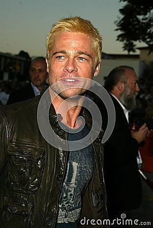 Brad Pitt Editorial Stock Photo