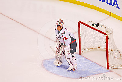 Braden Holtby Washington Capitals Editorial Photo