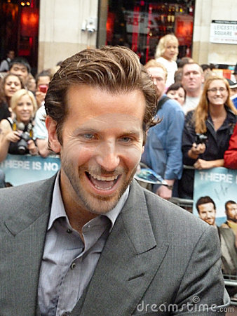 Bradley Cooper at A Team Premiere Editorial Image