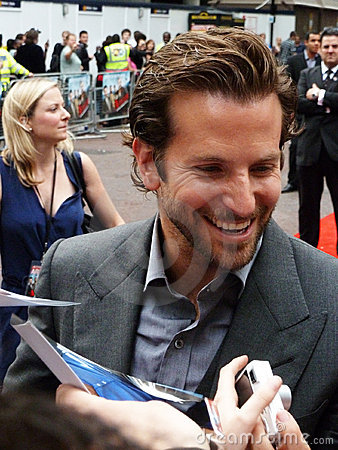Bradley Cooper at A Team Premiere Editorial Stock Image