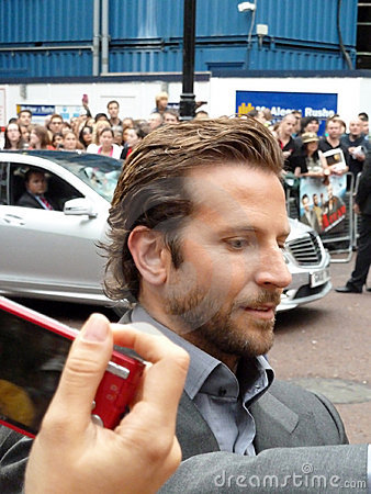 Bradley Cooper at A Team Premiere Editorial Photo