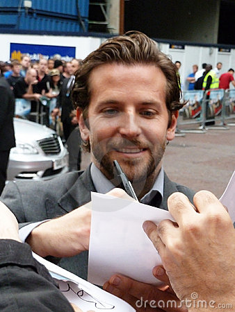 Bradley Cooper at A Team Premiere Editorial Stock Photo