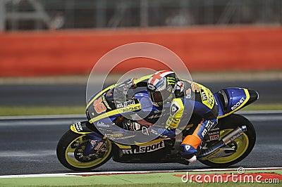 Bradley smith, moto 2, 2012 Editorial Stock Image