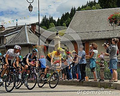Bradley Wiggins - Tour de France 2012 Editorial Image