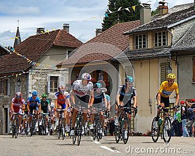 Bradley Wiggins - Tour de France 2012 Editorial Photo