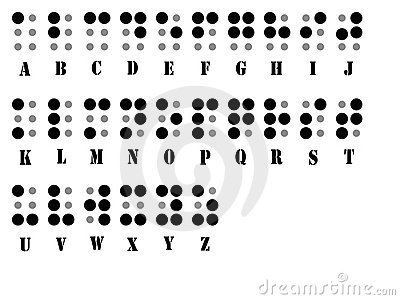 Braille alphabet system