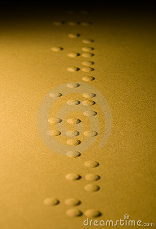 Braille code background