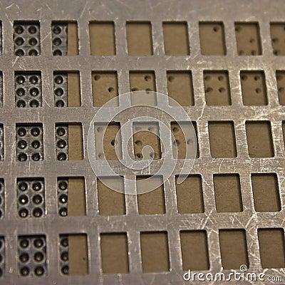 Braille dots