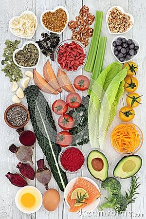 Free Brain Boosting Health Food Stock Images - 109094244