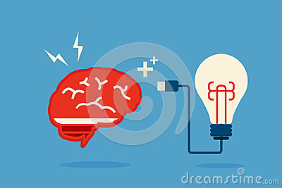 Brain and bulb idea stock image image 31837551 for Minimal art generator