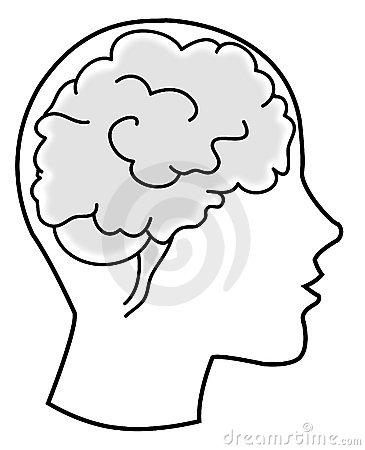 Brain - bw