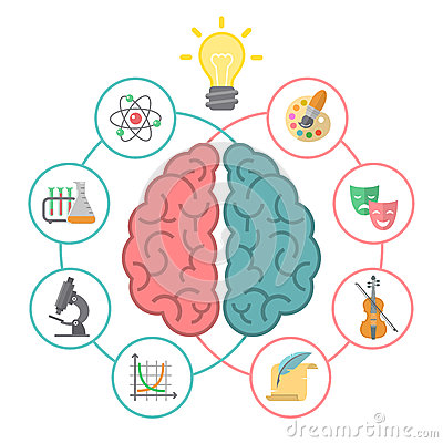 Free Brain Concept Royalty Free Stock Image - 43801456
