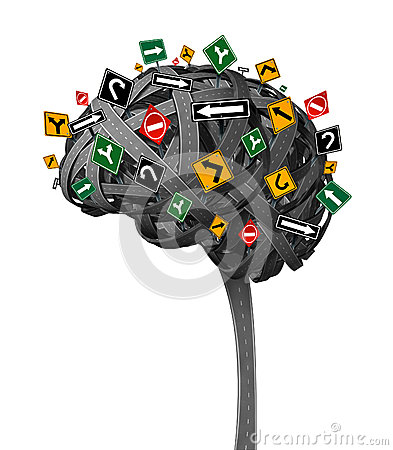 Free Brain Direction Royalty Free Stock Photography - 34388767