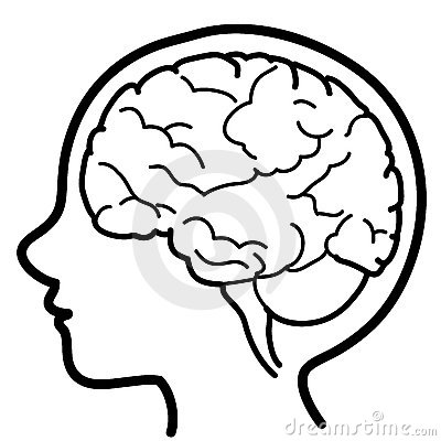 Child profile with visible brain