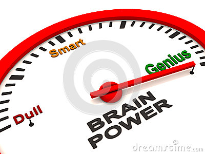 Brain power meter